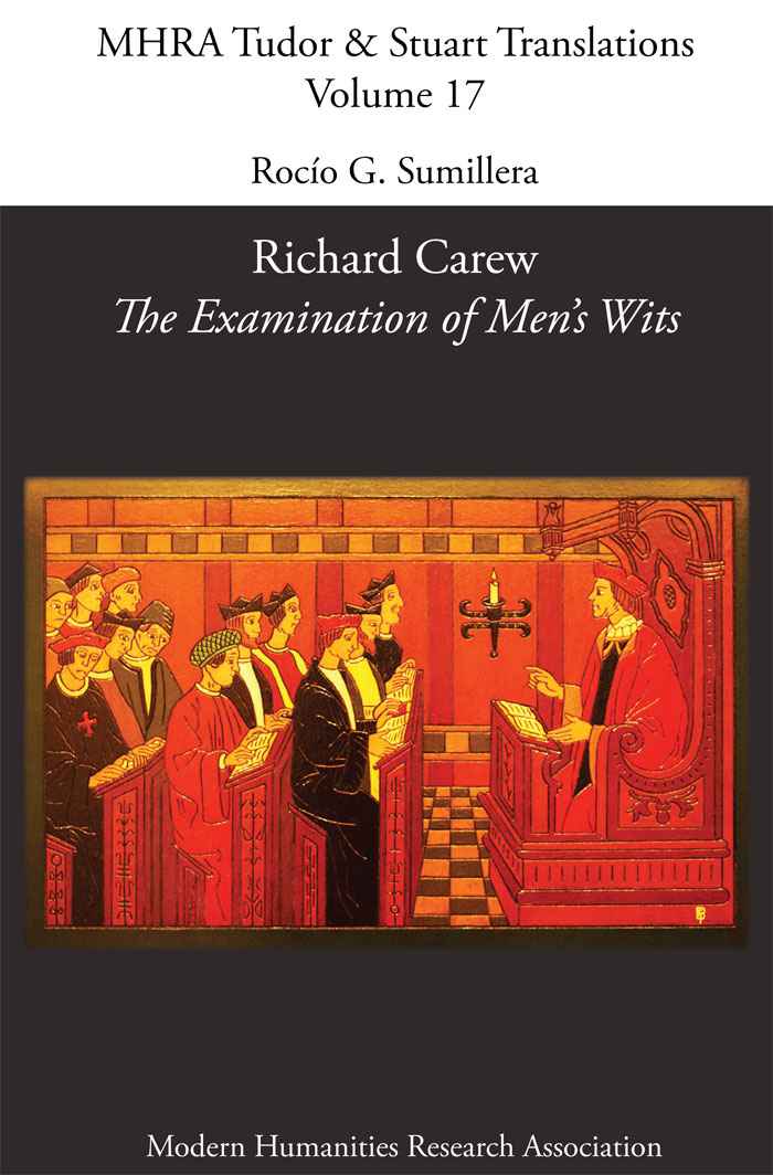 Portada libro The examination of men's wits