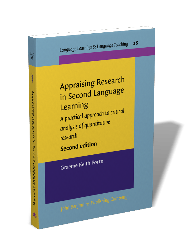 Portada libro Appraising Research in Second Language Learning