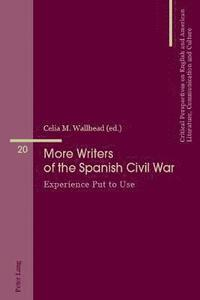 Portada libro More Writers of the Spanish Civil War